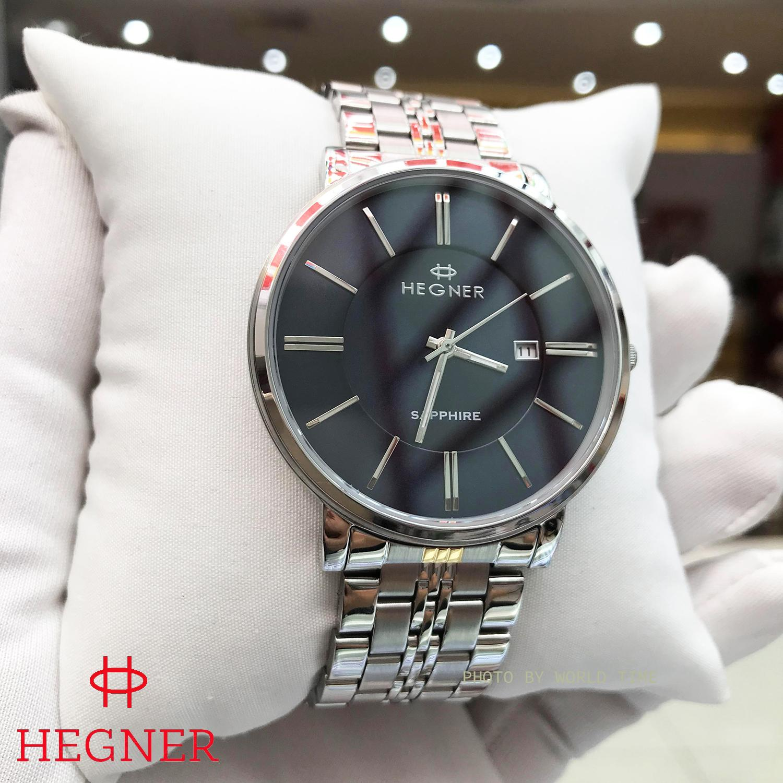 Nơi bán Đồng hồ Nam Hegner HW-1611MWBLUE - Full Box , Thẻ BH hãng - Kính Sapphire chống xước, chống nước