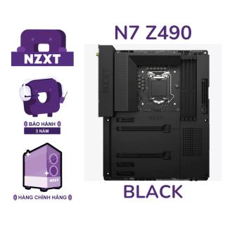 BO MẠCH CHỦ NZXT N7-Z490 MOTHERBOARD MÀU ĐEN thumbnail