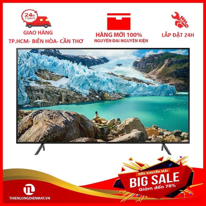 Smart Tivi Samsung 4K 55 inch UA55RU7100 chính hãng
