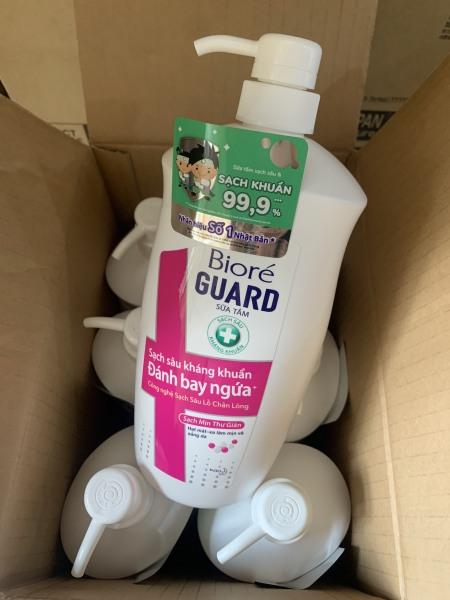 1 Chai Sữa Tắm Biore Guard Kháng Khuẩn, Sạch Mịn, Thư Giãn 100/800ML