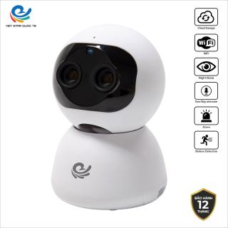 Camera WiFi IP VIET STAR CC2023- Độ phân giải 2.0 MP full HD 1080P- Quay 355 chuyển động theo người- Zoom xa 10x- Bộ nhớ 128 GB- CC2023 thumbnail