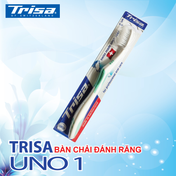 Bàn Chải Đánh Răng Không Mã Vạch Trisa Uno 1