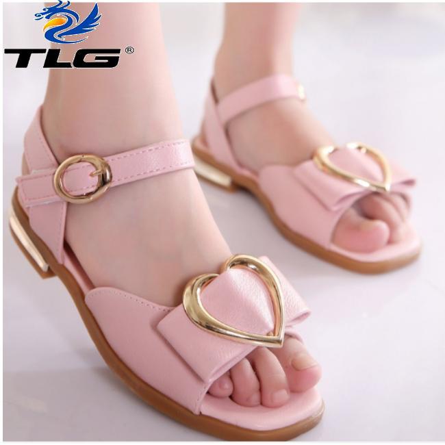 Sandal Hàn Quốc siêu dễ thương cho bé Đồ Da Thành Long TLG 20715