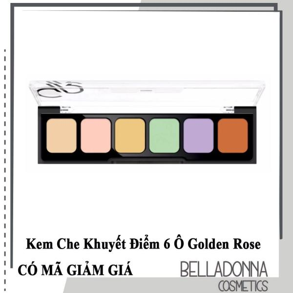 Che Khuyết Điểm 6 Ô Golden Rose Correct & Conceal Camouflage Cream Palette