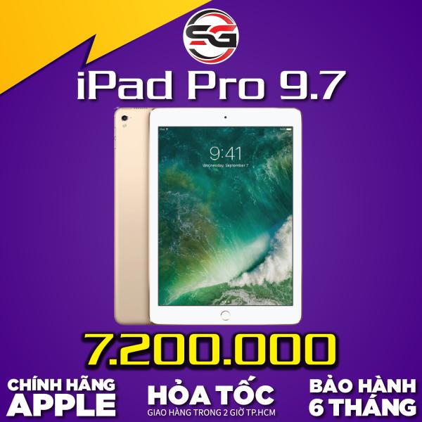iPad Pro 9.7 inch, phiên bản 4G+Wifi CẤU HÌNH MẠNH MẼ, GAME ONLINE VỚI MÀN HÌNH LỚN CHÍNH HÃNG APPLE QUỐC TẾ MRCAU