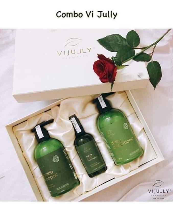 Trọn bộ sản phẩm chăm sóc tóc ViJully - 𝙑𝙞 𝙅𝙪𝙡𝙡𝙮 𝘾𝙤𝙨𝙢𝙚𝙩𝙞𝙘 cao cấp