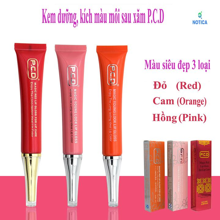 Kem dưỡng và kích màu môi sau xăm PCD tốt nhất