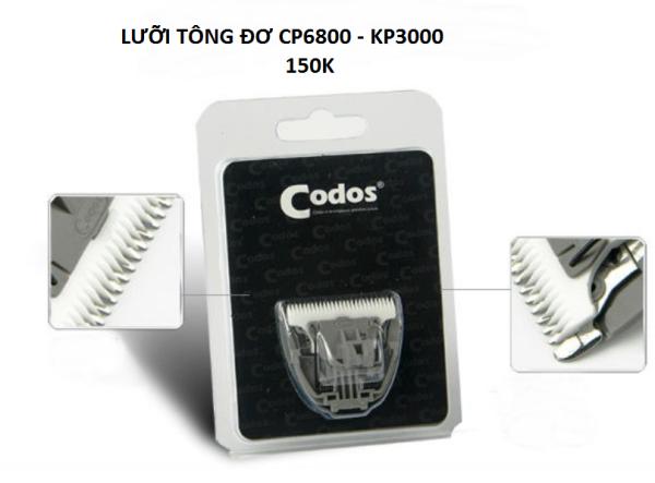 Lưỡi Tông đơ CP.6800 - CP.7800 CẠO LÔNG CHÓ MÈO THÚ CƯNG