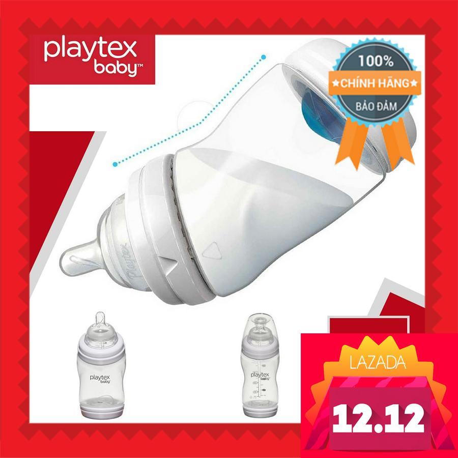 Bình Sữa Playtex Ventair Kiểu Mới 266ml (Trắng)