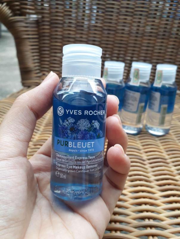 Tẩy trang mắt Yves Rocher 50 ml chai mini (Made in France) - MAKE UP REMOVER nhập khẩu