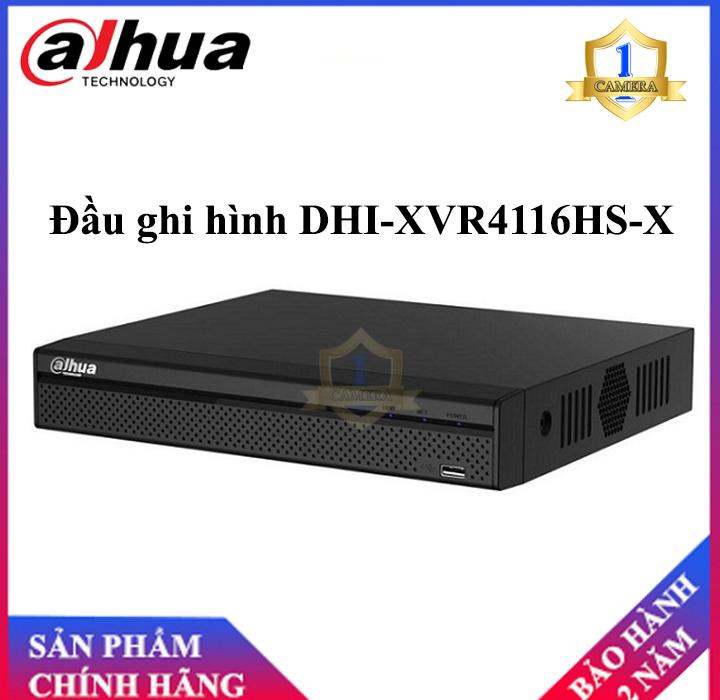 Đầu ghi hình 16 kênh HD-CVI chuẩn nén H.265+ Dahua XVR4116HS-X - Hàng nhập khẩu-Camera Số 1