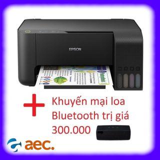 Máy in phun màu Epson L3110 ( In,Scan,Copy ) sử dụng mực Hàn Quốc + tặng kèm khuyến mại loa Bluetooth trị giá 300.000đ thumbnail