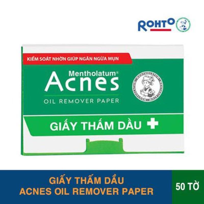 Giấy Thấm Dầu Acnes – Acnes Oil Remover Paper 50 tờ nhập khẩu