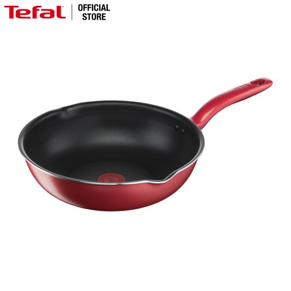 Chảo chiên chống dính đáy từ Tefal So Chef G1358695 28cm sâu lòng (Đỏ)