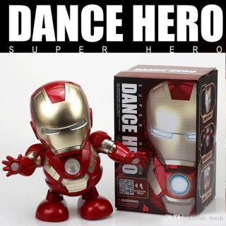 Đồ chơi robot Dance Hero Iron man nhảy múa theo nhạc thumbnail