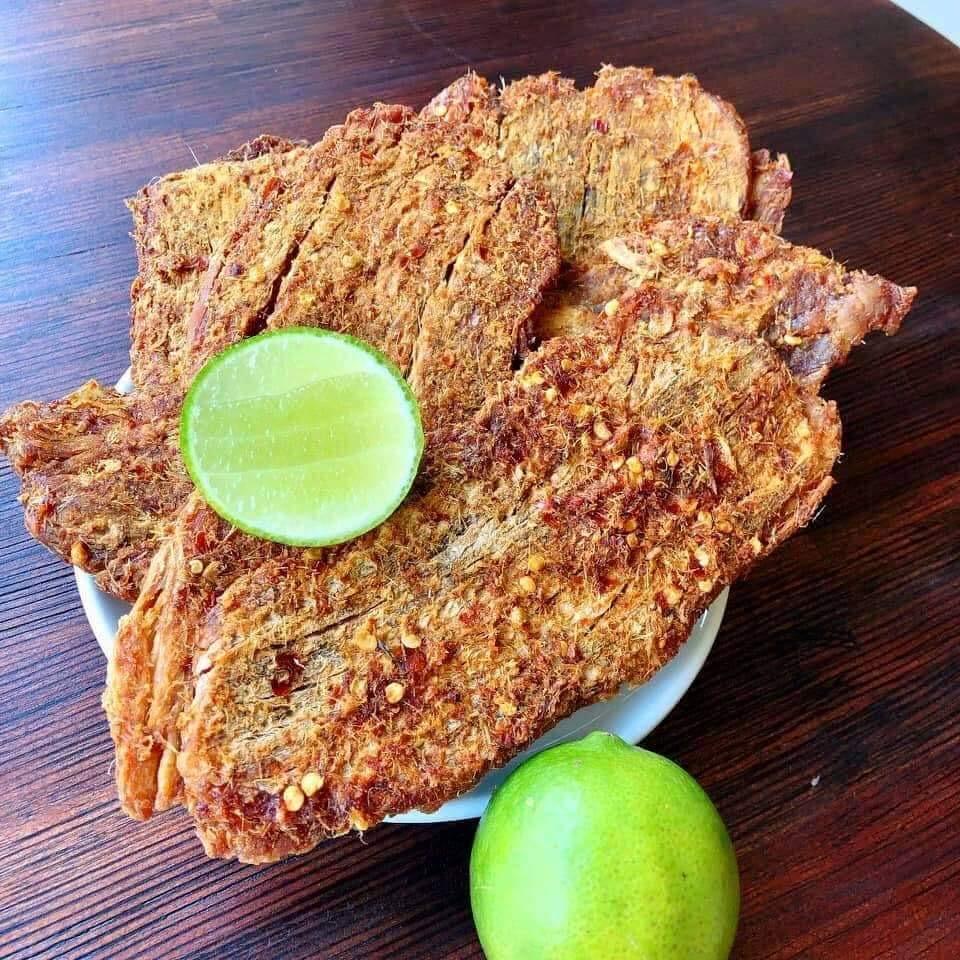 [BÒ THẬT] COMBO 1kg Khô Bò Miếng Quy Nhơn - Chính tay nhà làm, đồ ăn vặt sạch