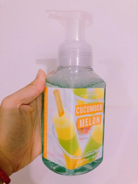 Xà Phòng Rửa Tay Bath & Body Works Cucumber Melon 259ml