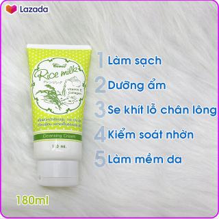 Sữa Rửa Mặt Gạo Thái Lan Chuẩn Civic Rice Milk 180ml thumbnail