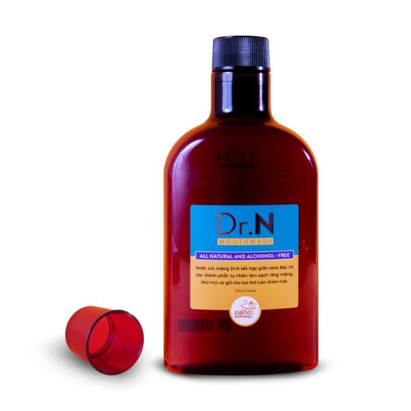Nước Súc Miệng Nano Bạc Dr. N 350 ml [ Tặng diệt  khuẩn Nano 40 ml] giá rẻ