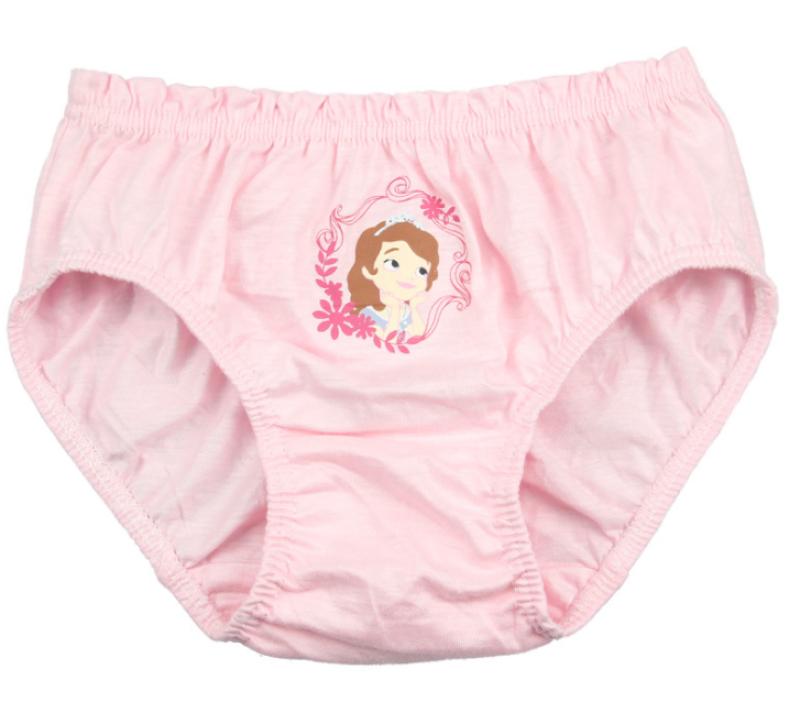 Nơi bán Hộp 5 quần lót trẻ em Hàn Quốc 100% vải cotton thoáng mát mẫu Công Chúa Sofia The First dành cho bé gái