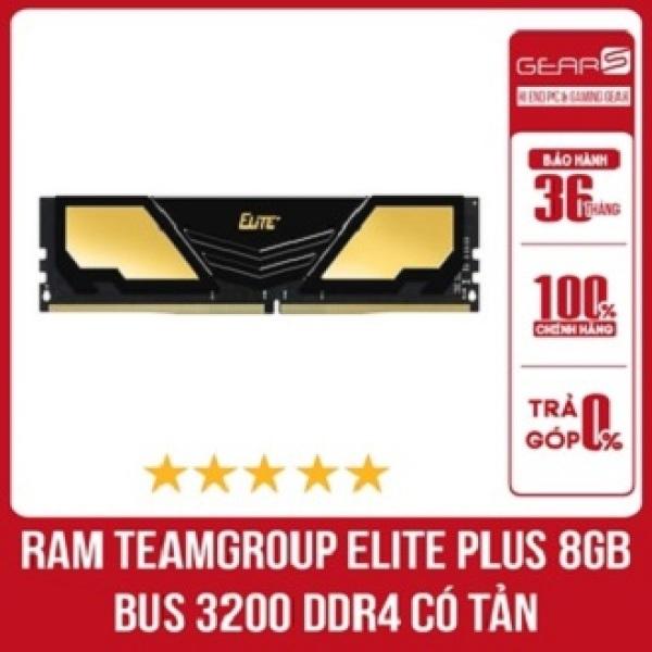 Bảng giá Ram TEAMGROUP Elite Plus 8GB Bus 3200 DDR4 có tản - Bảo hành chính hãng 36 Tháng Phong Vũ