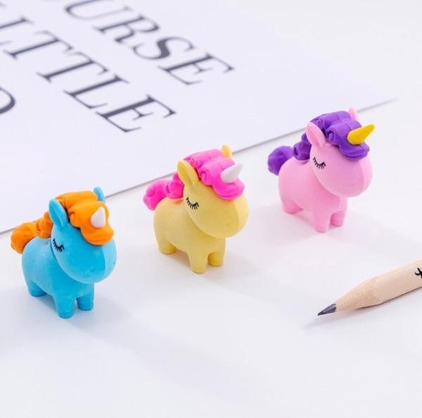 Gôm Tẩy Hình Unicorn - Ngựa Một Sừng