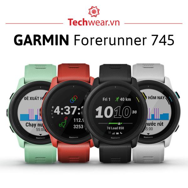 Đồng hồ Garmin Forerunner 745 chính hãng   Bảo hành 12 tháng   Mới 100%  đồng hồ chuyên theo dõi chạy bộ giá tốt 010-02120-4A