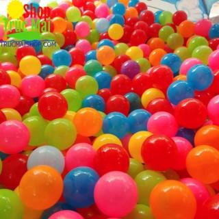 Đồ chơi an toàn cho bé 100 quả bóng nhựa Việt Nam Chất lượng cao cho nhà bóng lều bóng quây bóng thumbnail