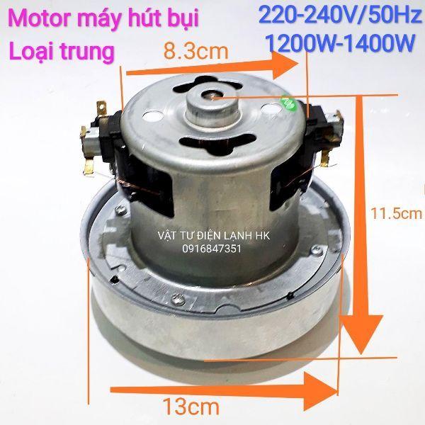 Motor động cơ máy hút bụi đa năng - 100% dây đồng - Mô tơ các size cỡ - motor máy hút bụi cỡ trung