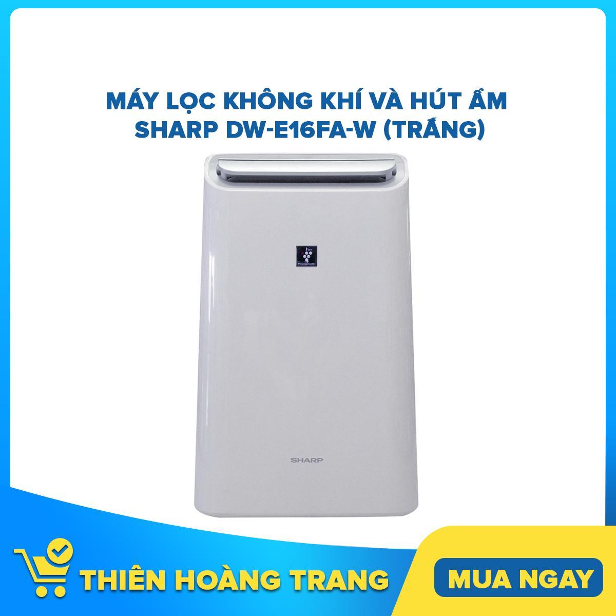 Bảng giá Máy lọc không khí và hút ẩm Sharp DW-E16FA-W (Trắng)