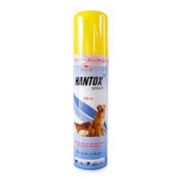 HANTOX dạng xịt 300ml - Thuốc trị ve, ghẻ, chấy, rận, bọ chét trên chó mèo