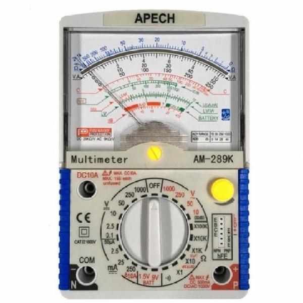 Đồng hồ vạn năng hiện kim APECH AM-289K