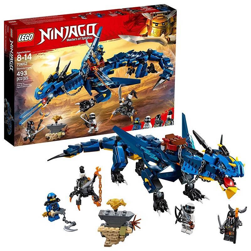 Chương Trình Ưu Đãi cho ĐỒ CHƠI LEGO NINJAGO Maste Rs Of Spinjitzu 70652