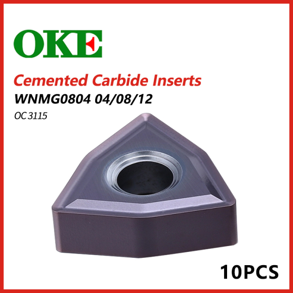 OKE Cemented Carbide Inserts WNMG0804 04/08/12