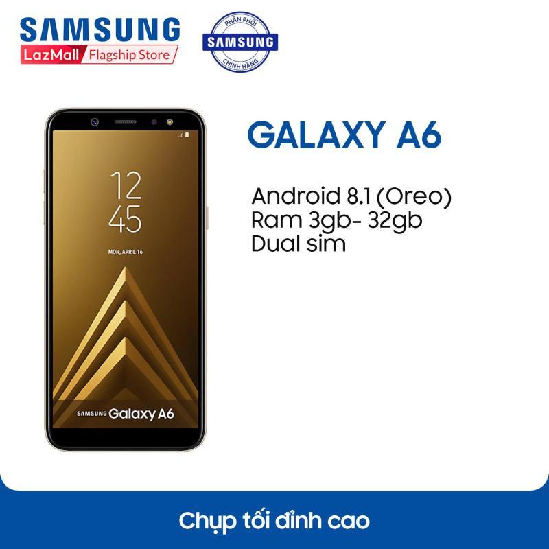 Điện thoại Samsung Galaxy A6 (2018) - 3GB RAM - 32GB ROM - 5.6 inch -  - Android điện thoại thông minh