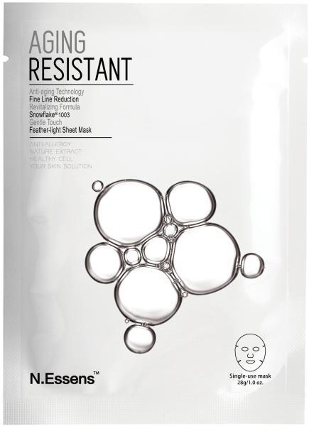 N.Essens Mặt Nạ Chống Lão Hóa  Aging Resistant (1 miếng, 28ml/pc)