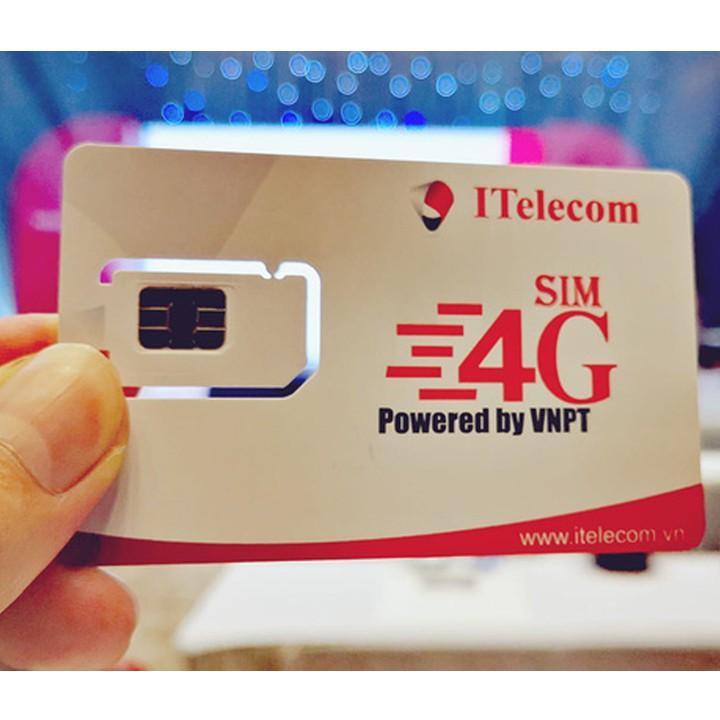 Sim 4G ITelecom May 3Gb/1 Ngày Bất Ngờ Giảm Giá
