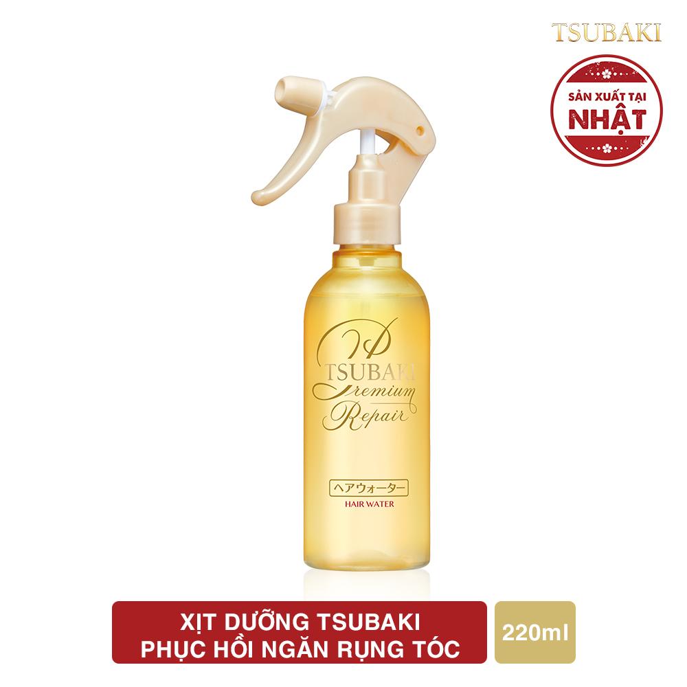 Xịt dưỡng Tsubaki phục hồi ngăn rụng tóc