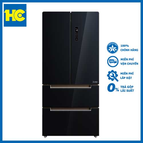 [Trả góp 0%]Tủ lạnh Toshiba Inverter 500 lít GR-RF532WE-PGV - Miễn phí vận chuyển & lắp đặt - Bảo hành chính hãng