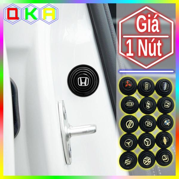 【QKA】Nút núm cao su giảm chấn giảm lực đóng bảo vệ cánh cửa xe ô tô