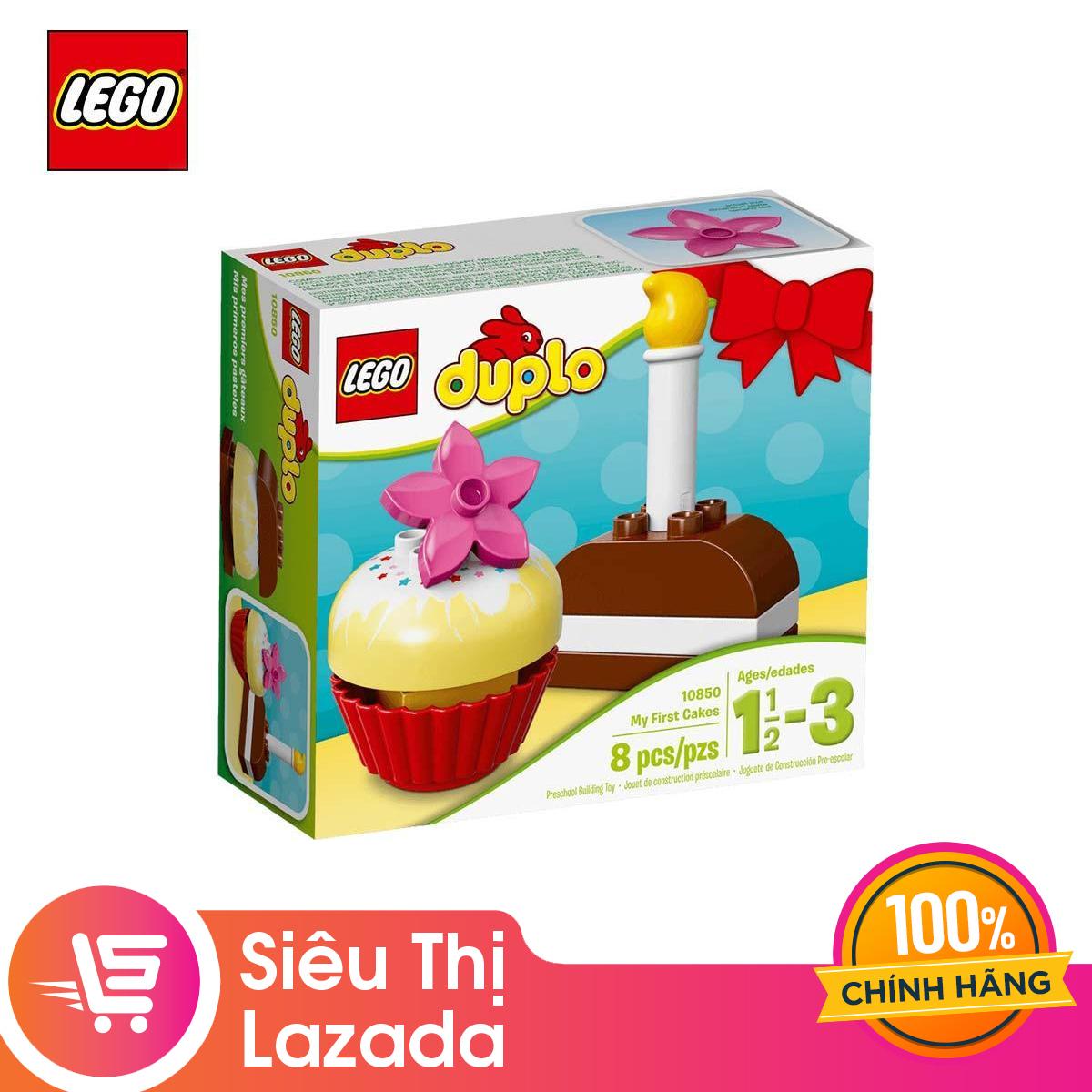 Voucher tại Lazada cho [Voucher Freeship 30k]Đồ Chơi Lắp Ráp Lego Bánh Kem Đầu Tiên