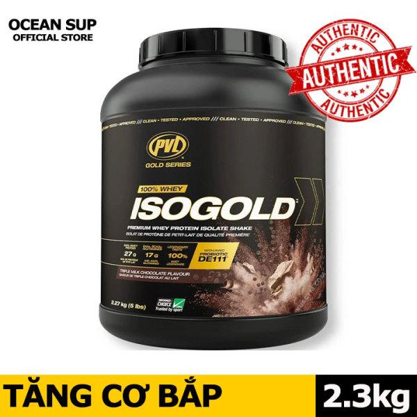 Sữa Tăng Cơ PVL ISO GOLD - Whey Protein cao cấp hộp 5lbs