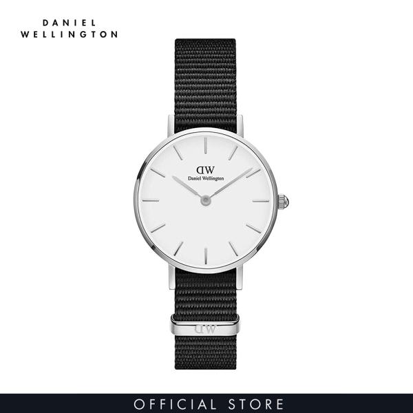 Đồng hồ Nữ Daniel Wellington dây vải nato - Petite Cornwall 28mm DW00100252