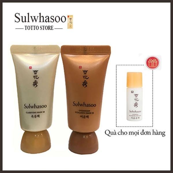 Bộ đôi mặt nạ thảo dược Sulwhasoo, mặt nạ lột sulwhasoo, mặt nạ ngủ - Mặt nạ trắng da sulwhasoo 30ml tốt nhất
