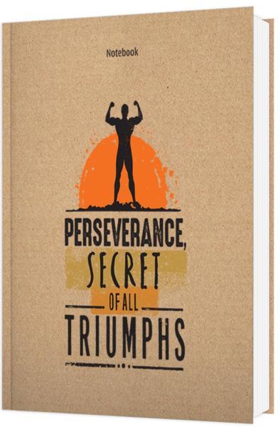 Sổ Tay/Notebook: Perseverance Secret Of All Triumphs