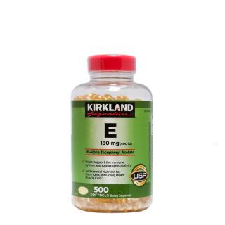 Viên Uống Bổ Sung Vitamin E 400I.U Kirkland Signature 500 Viên thumbnail