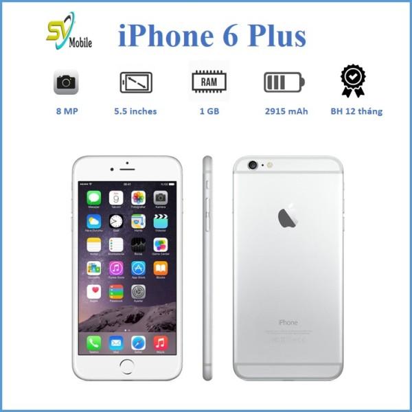 [Trả góp 0%]Điện Thoại Apple iPhone 6 Plus 16-64GB, Màn Hình 5.5 inch Quốc Tế - Mới - Full Chức Năng - Bảo Hành 1 Đổi 1