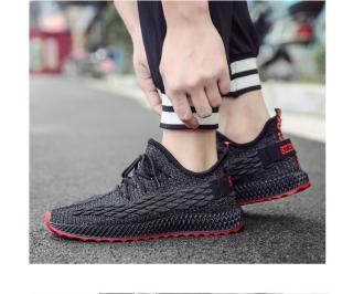 Giày Thể Thao Nam BAZAS NB86BG Màu Đen Xám 4