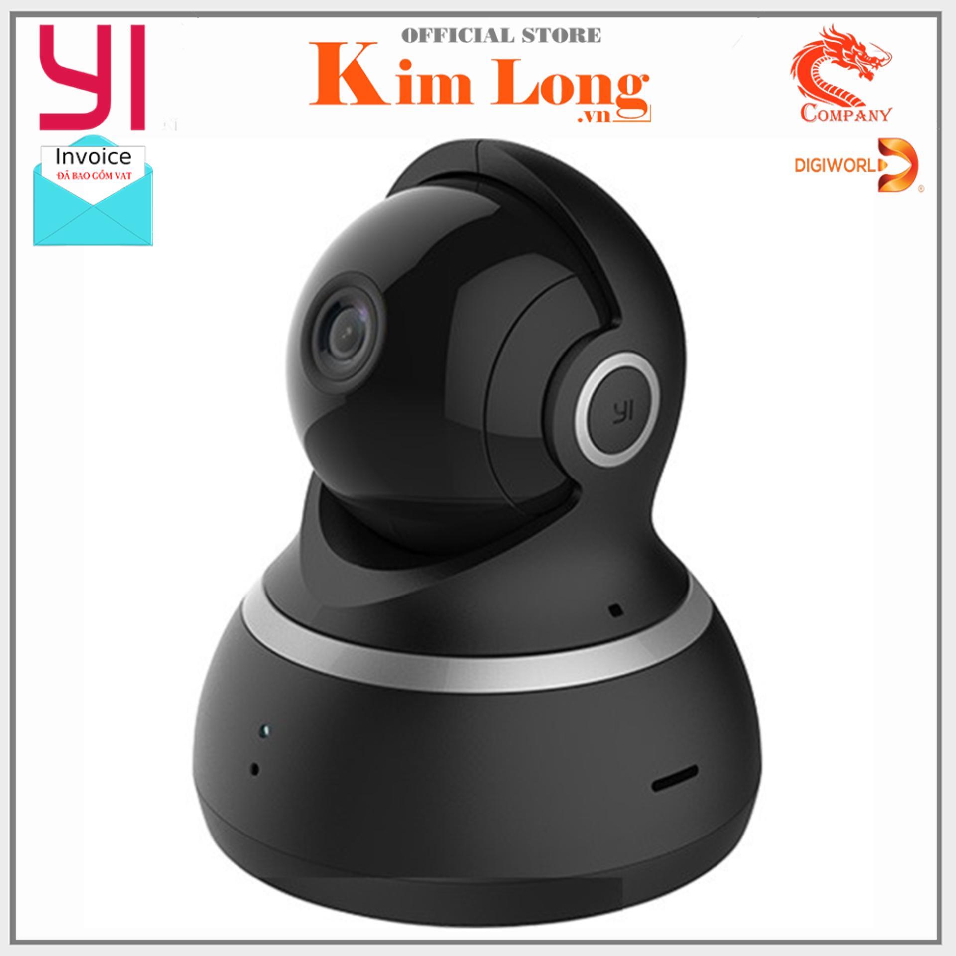 Camera quan sát Yi Dome Full HD 1080P -EU Xoay 360 H20 - Hãng phân phối