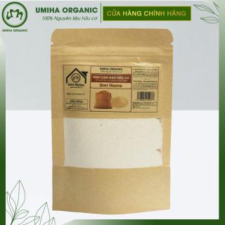 Tinh bột Cám Gạo hữu cơ UMIHOME nguyên chất túi Zip 35g - Dùng tẩy da chết sạch sâu da, đắp mặt, dưỡng da trắng mịn thumbnail